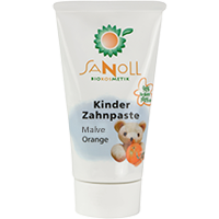 Bio Kinder Zahnpaste Malve-Orange